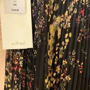 Aritzia flowy floral skirt